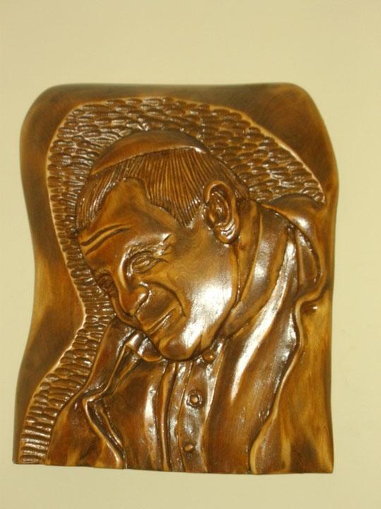 Płaskorzeźba Jan Paweł II
